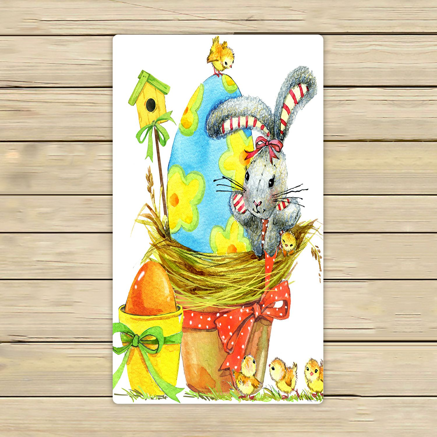 PHFZK Watercolor Towel, Easter Bunny Egg And Spring Chicken Hand Towel Bath  Bathroom Shower Towels Beach Towel 16x28 Inches   Walmart.com Images