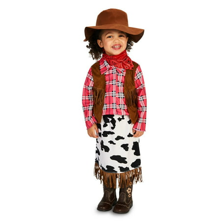 Cowgirl Princess Toddler Costume