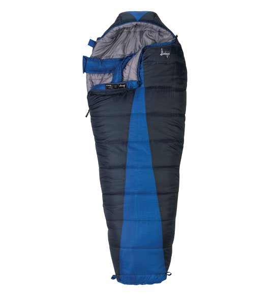 Slumberjack Latitude -20 Degree Mummy Sleeping Bag Long by Slumberjack