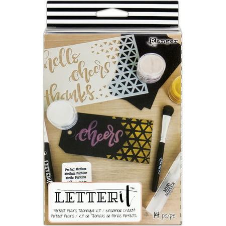 Ranger Letter It Perfect Pearls Technique -
