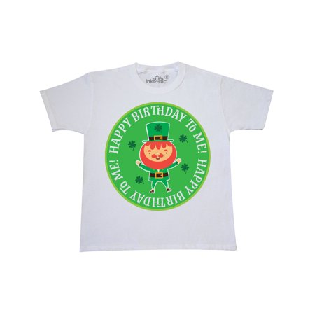Irish March Birthday Leprechaun Youth T Shirt