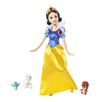 disney princess and friends snow white and animal friends giftset