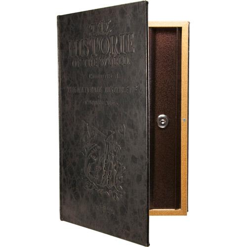 Barska Large Antique Book Safe with Key Lock