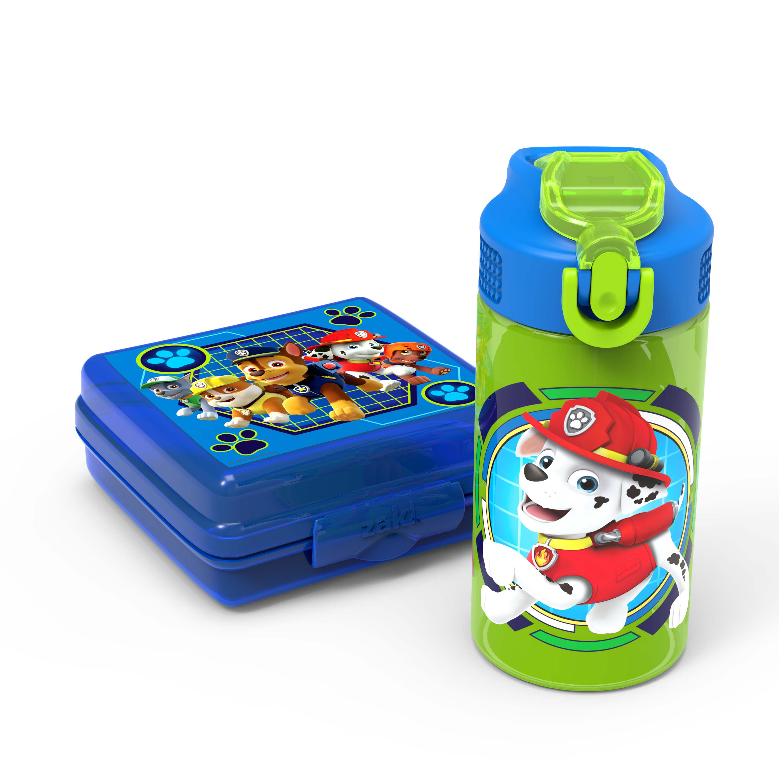 Zak! Designs Paw Patrol Rubble, Chase, Marshall & Friends Kid's Lunch Sets