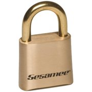 CCL Security K0436-PK50 4 Dial Bottom Resettable Combination Brass Padlock, 1 in. Shackle