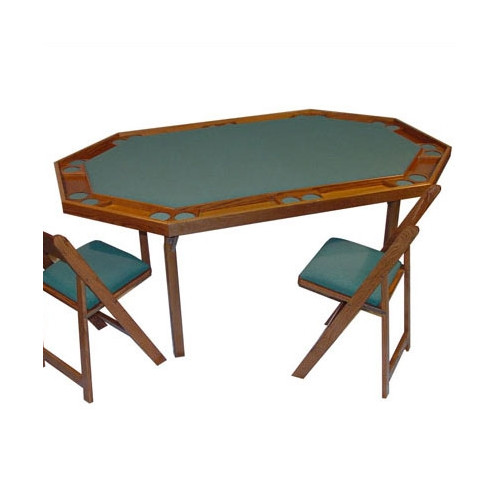 Kestell Furniture 72'' Maple Deluxe Card Table by