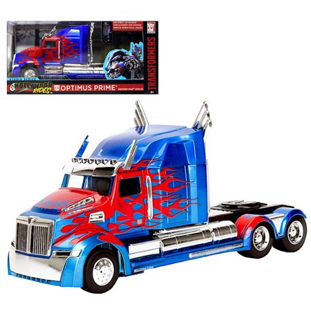Optimus Prime Vehicle - Optimus Prime Transformer Hollywood Rides Truck 1:32 Scale