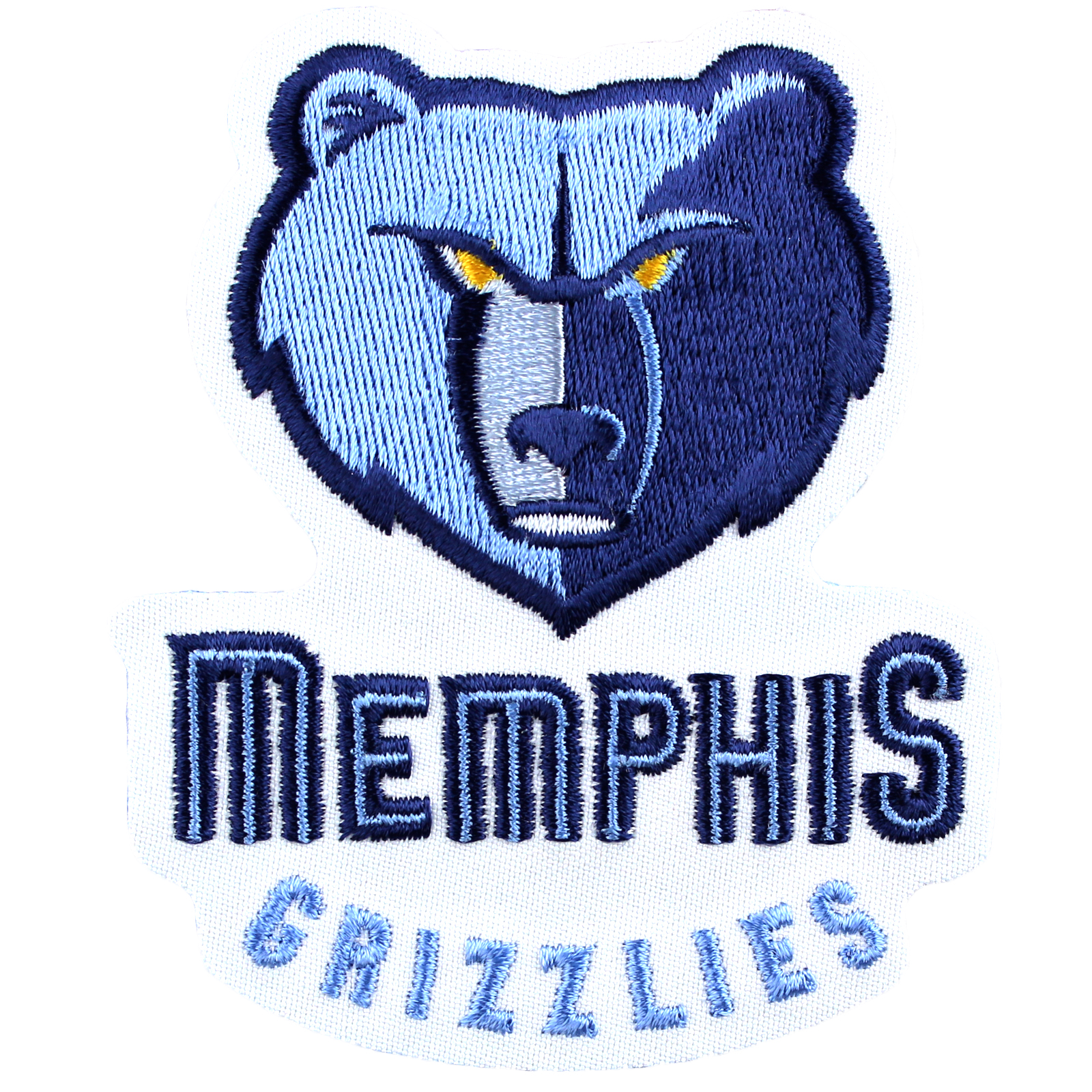 Memphis Grizzlies Large Sticker Iron On NBA Patch