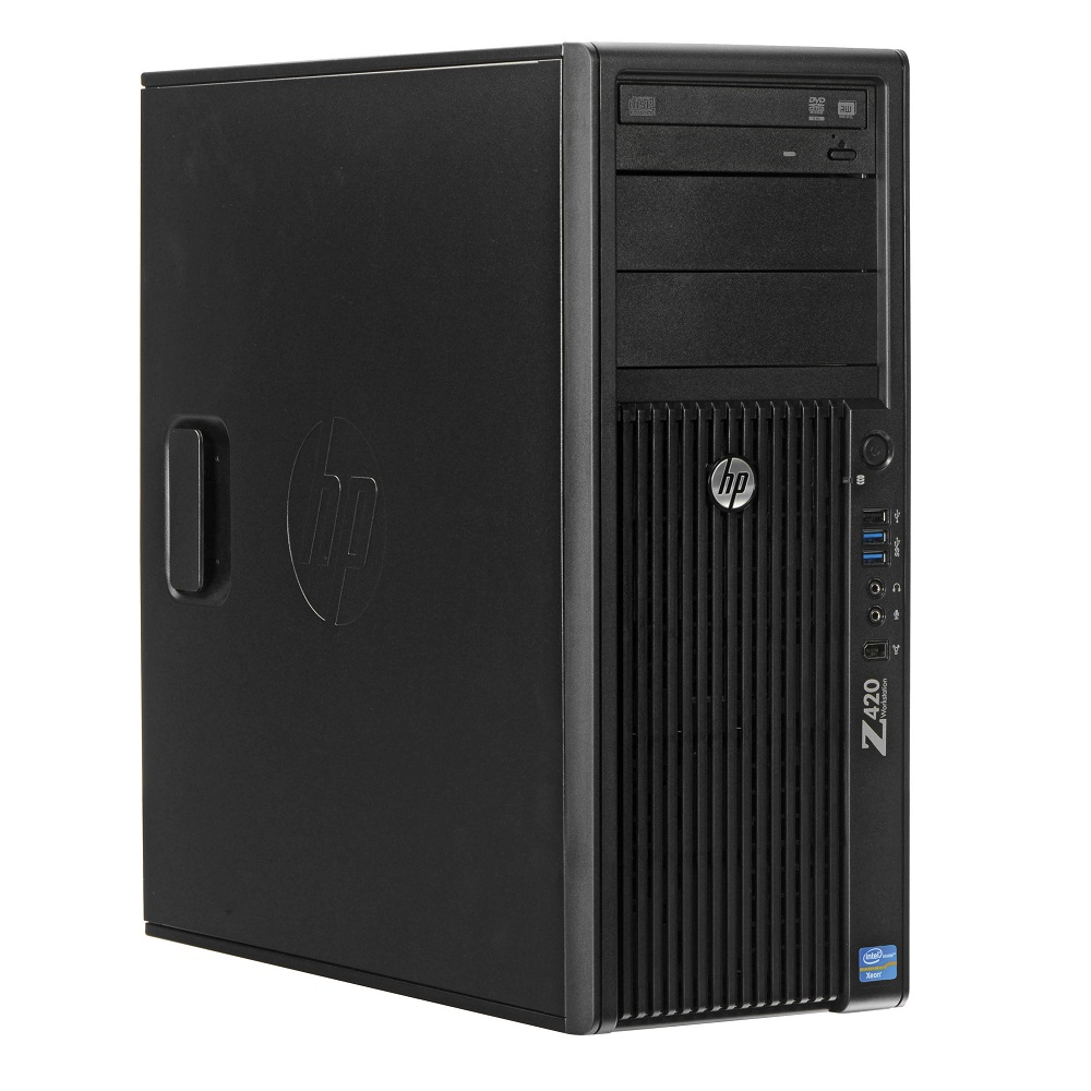 Refurbished HP Z420 E5-1620 4C 3.6Ghz 16GB 2TB Q600
