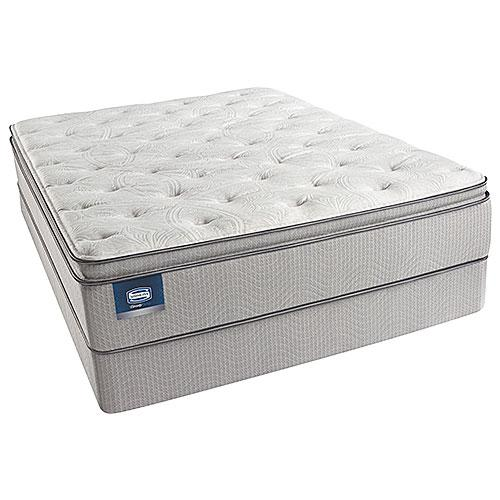 Simmons BeautySleep Chickering Plush Pillow Top King Size Mattress Set