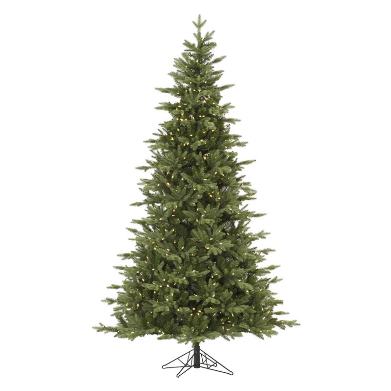 Vickerman 12 ft. Fresh Balsam Fir Full Pre-lit Christmas ...