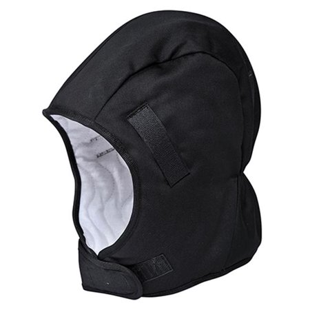 Black Winter Helmet (Portwest PA58 Helmet Winter Liner-Black)