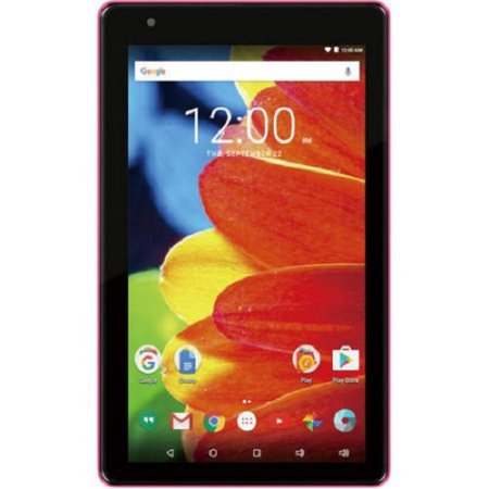 """Refurbished RCA RCT6873W42 PINK Voyager 7"""" 16GB Tablet Android 6.0 (Marshmallow)"""