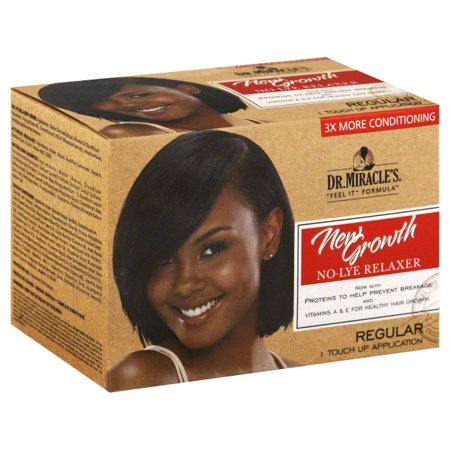 Dr. Miracle's Feel it Formula New Growth Regular Relaxer Kit