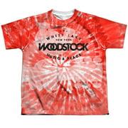 Woodstock Tie Dye Big Boys Sublimation Shirt