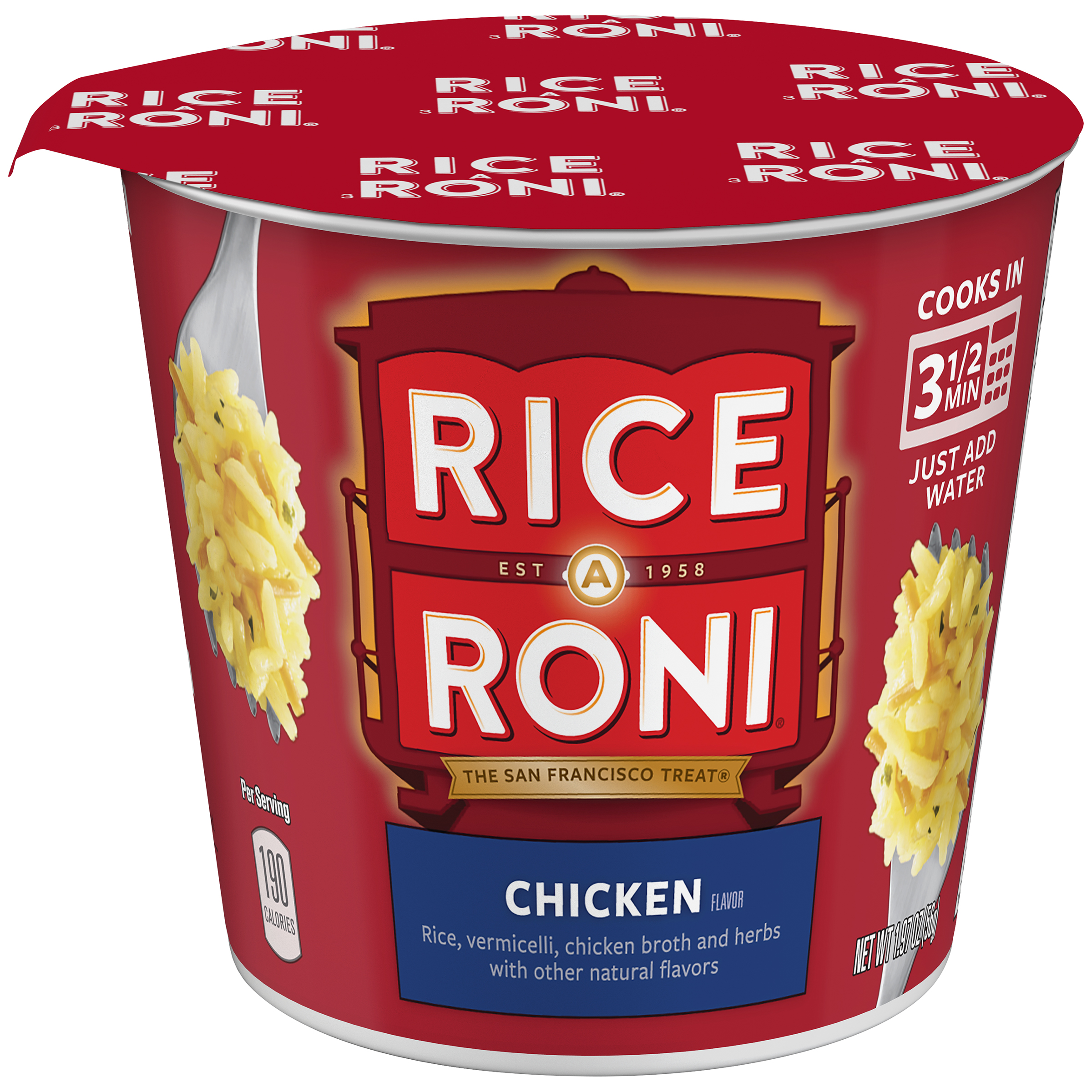 Rice-A-Roni�� Chicken Flavor Rice Blend 1.97 oz. Cup