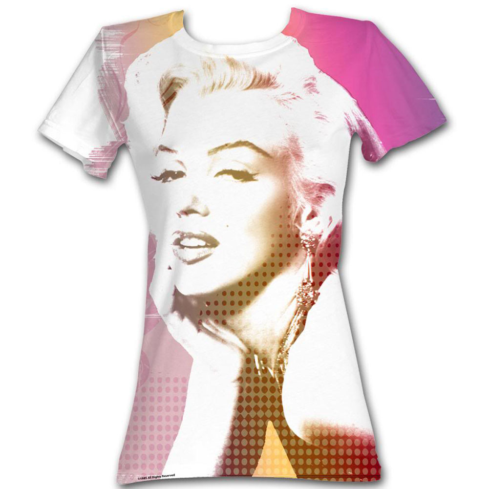 Marilyn Monroe  Marilyn Sub Girls Jr White