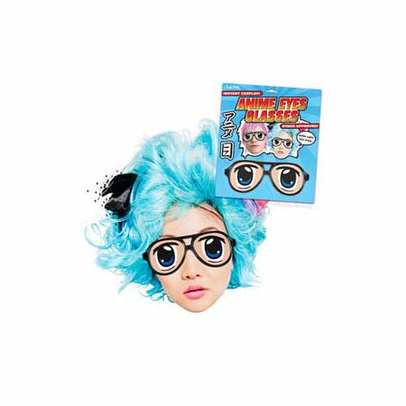 Anime Glasses by Accoutrements - (60's Glasses Costume)