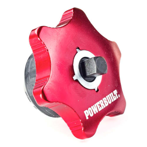 Powerbuilt 941248 1/4 Inch Square Drive Finger Ratchet and Bits