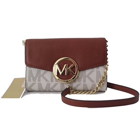 Michael Kors Hudson Lg Phone Crossbody Bag Vanilla