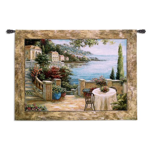 Mediterranean Terrace II Wall Tapestry by Supplier Generic