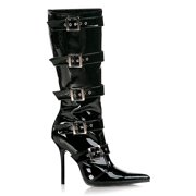 Milan-2015, 4 1/2'' Knee Boot Featuring Buckle