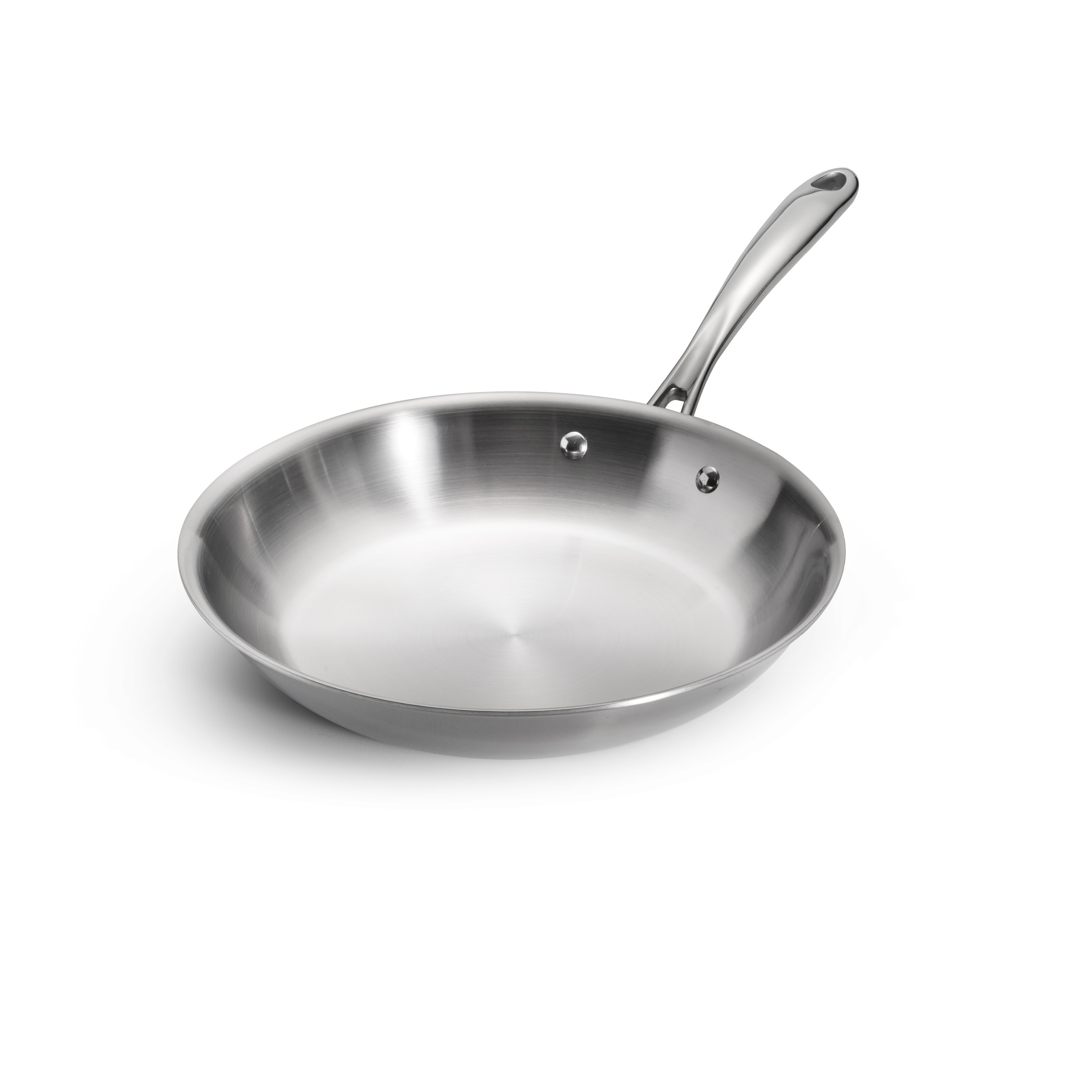 Tramontina 10 Inch Stainless Steel Tri Ply Clad Saute Pan