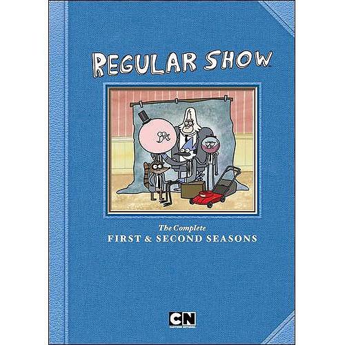 CARTOON NETWORK-REGULAR SHOW SEASON 1 & 2 (DVD/3 DISC/FF)