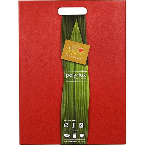 "Architec KDECOFLX16 Red EcoSmart Poly Flax"" Cutting Board"