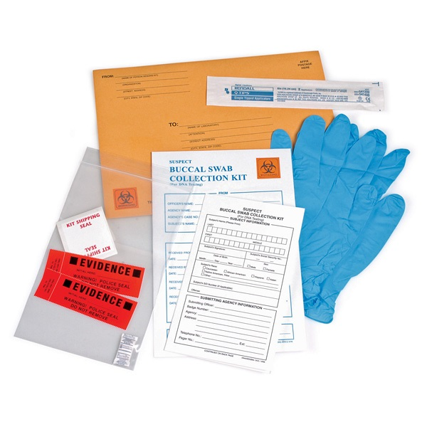 Armor Forensics 4-4980 Buccal Swab DNA Collection Kit - 29312 - Armor Forensics