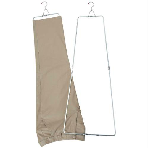 Laundry Supplies Professional Sale 2 Pieces Pants Stretcher Heavy Duty Metal Rustproof Custom Fit Clothing Chrome