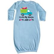 I Love My Auntie Baby Clothes Newborn Layette