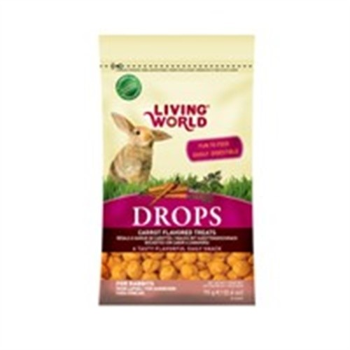 Living World Rabbit Treat 2.6oz, Carrot