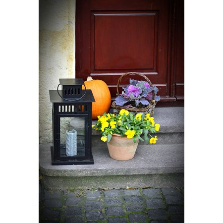 Peel-n-Stick Poster of Old Town Square Veszprém Halloween Poster 24x16 Adhesive Sticker Poster Print (Halloween Town Full Film)