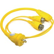 Furrion Yellow (2) Female to Male Shore Power Adapter