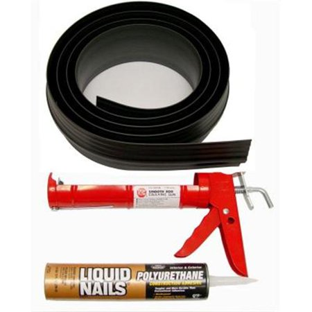 Tsunami Seal Garage Door Threshold Kit Black Garage Door Threshold Seal