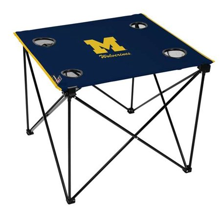 Fantastic University Of Michigan Wolverines Deluxe Table Gmtry Best Dining Table And Chair Ideas Images Gmtryco