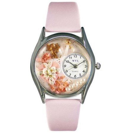 Valentine's Day Watch (Pink) Small Silver Style