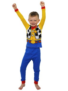 Toy Story Woody Toddler Boys Costume Style Pajamas Set 21TS028ELL