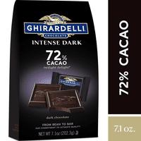 Ghirardelli Intense Dark Chocolate Squares - 72% Cacao  7.01 oz.