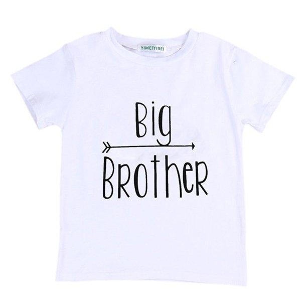 Eyiiye Eyiiye Boy Little Brother Romper Big Brother T Shirt Tops Matching Shirts Walmart Com Walmart Com