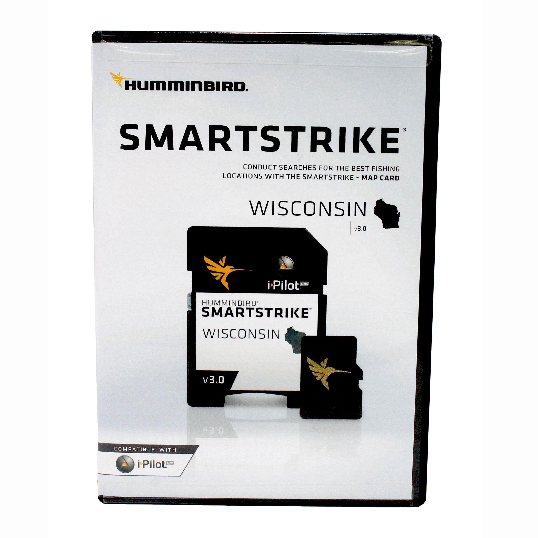 Humminbird 600041-3 Smartstrike Version 3.0 Digital Fishing Map Card for Wisconsin