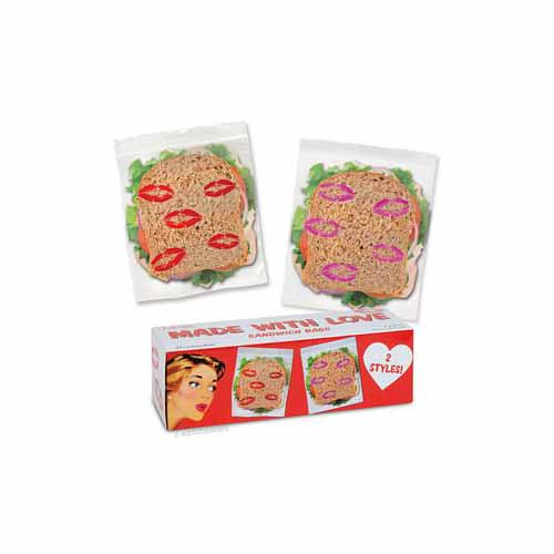 Kisses Sandwich Bags by Accoutrements - 12247