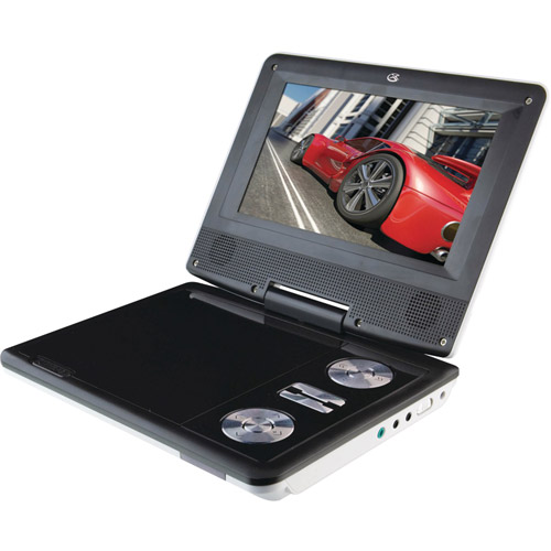 "GPX 7"" TFT Portable DVD Player"