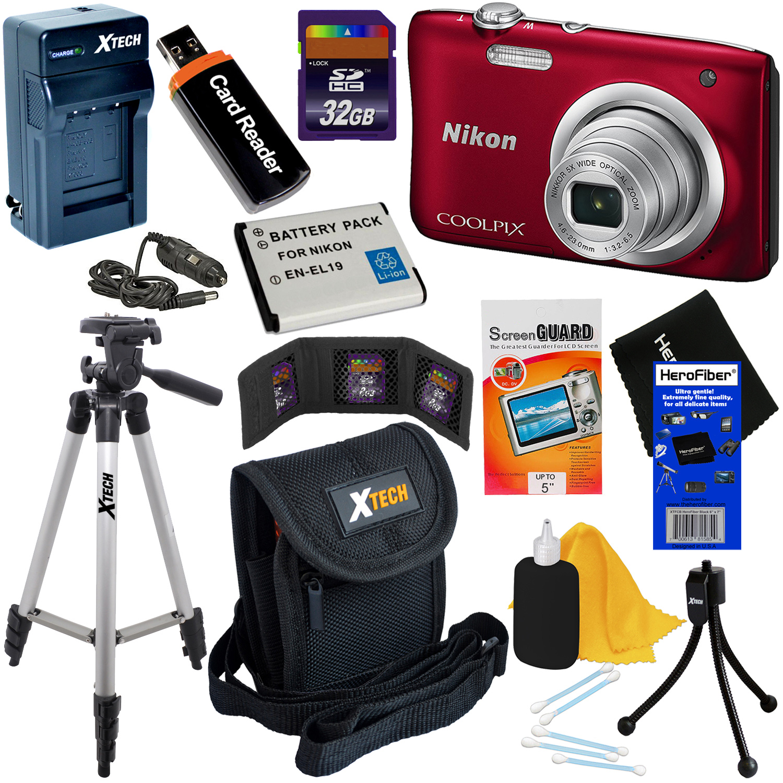 Nikon COOLPIX A100 20.1 MP Digital Camera with 5x Zoom Le...