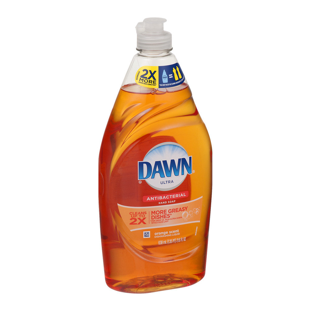 Dawn Ultra Dishwashing Liquid, Orange, 21.6 Fl Oz