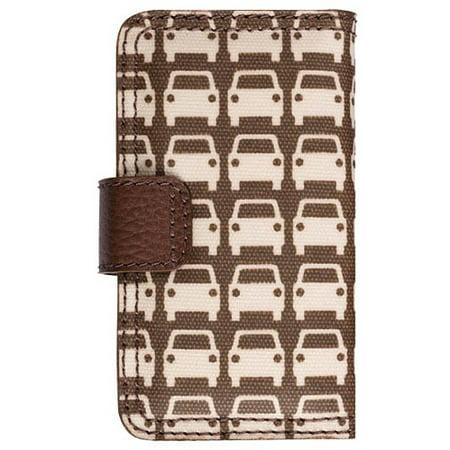 Orla Kiely Rotating Folio Case for Apple iPhone 4/4S, iPhone 3G/3GS (Car (Orla Kiely Sunset Flora Hanging Wash Bag)