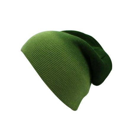 Ombre Gradient Beanie Skull Cap - Ombre Cap