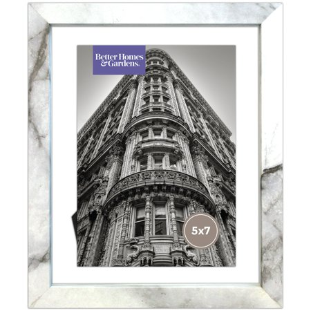 Better Homes and Gardens Marble Finish Floating Frame - 5x7