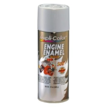 Krylon DE1615 Engine Enamel Paint, Aluminum, 12 Oz Can, Contains Ceramic
